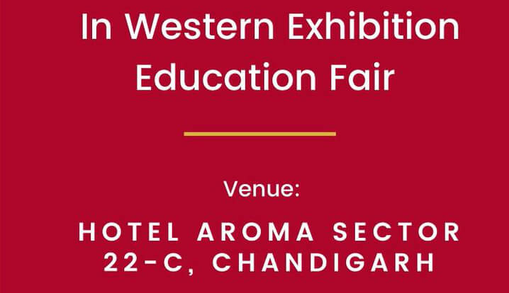 Western Exhibition Education Fair in Chandigarh, 28th November 2020